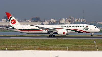 S2-AJX - Boeing 787-9 Dreamliner - Biman Bangladesh Airlines