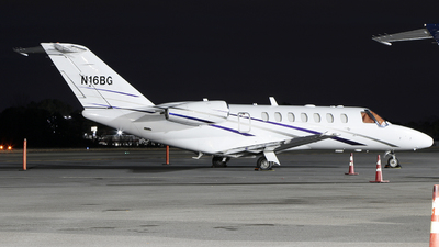 N16BG - Cessna 525B CitationJet CJ3+ - Private