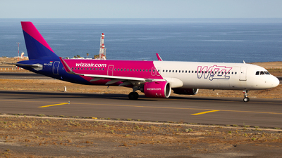 A picture of HALVD - Airbus A321271NX - Wizz Air - © J.M.Carballo