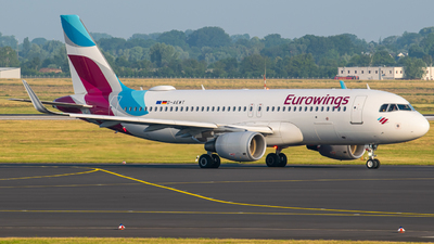 A picture of DAEWT - Airbus A320214 - Eurowings - © Finnographie
