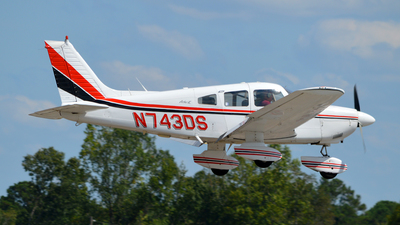 A picture of N743DS - Piper PA28181 - [287890090] - © Trent Compton