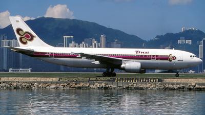 HS-TAH - Airbus A300B4-605R - Thai Airways International