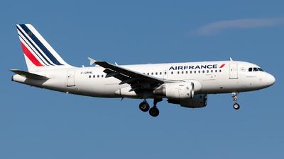 A picture of FGRHL - Airbus A319111 - Air France - © Julian Azeroth