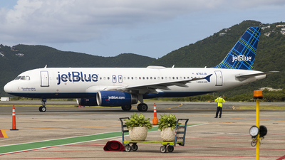 N760JB - Airbus A320-232 - jetBlue Airways