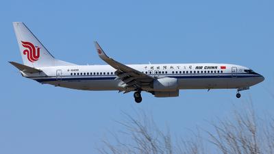 B-6498 - Boeing 737-89L - Air China