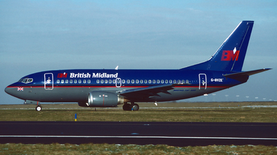 G-BVZE - Boeing 737-59D - bmi British Midland International