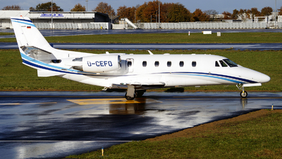 D-CEFO - Cessna 560XL Citation XLS Plus - Air Hamburg