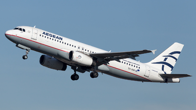 A picture of SXDGK - Airbus A320232 - Aegean Airlines - © Oksana