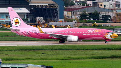 HS-DBE - Boeing 737-83N - Nok Air