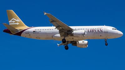 5A-LAQ - Airbus A320-214 - Libyan Arab Airlines