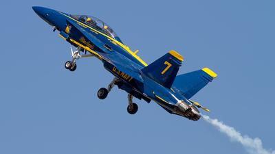 163468 - McDonnell Douglas F/A-18D Hornet - United States - US Navy (USN)