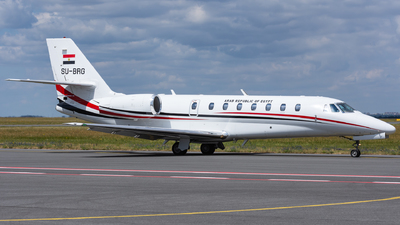 SU-BRG - Cessna 680 Citation Sovereign - Egypt - Government
