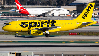 A picture of N506NK - Airbus A319132 - Spirit Airlines - © Brandon Giacomin