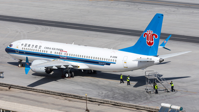 B-205N - Boeing 737-8 MAX - China Southern Airlines