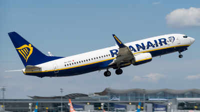 A picture of 9HQDV - Boeing 7378AS - Ryanair - © Boryspil Spotter