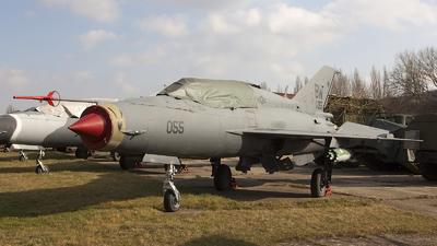 55 - Mikoyan-Gurevich MiG-21UM Mongol B - Hungary - Air Force