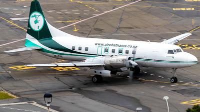 ZK-CIB - Convair CV-580 - Air Chathams