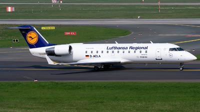 D-ACLA - Bombardier CRJ-100LR - Lufthansa Regional (CityLine)