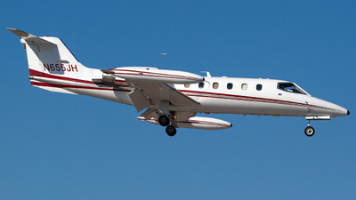 N655JH - Bombardier Learjet 35A - Private