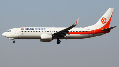 A picture of B5841 - Boeing 7378Q8 - Okay Airways - © King Wang