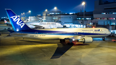 A picture of JA610A - Boeing 767381ER - All Nippon Airways - © Yukemaro