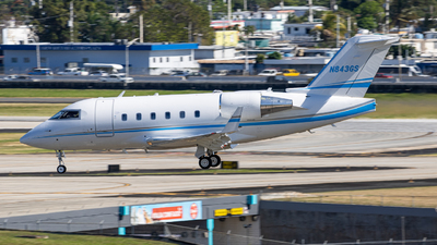 N843GS - Bombardier CL-600-2B16 Challenger 601-3R - Private