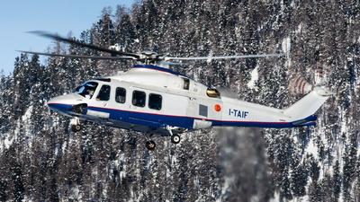 I-TAIF - Agusta-Westland AW-139 - Private