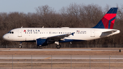 A picture of N321NB - Airbus A319114 - Delta Air Lines - © Saul Hannibal