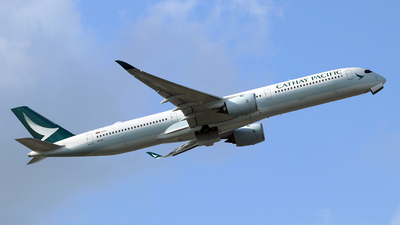 B-LXI - Airbus A350-1041 - Cathay Pacific Airways