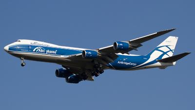 A picture of VQBFU - Boeing 74783Q(F) - AirBridgeCargo Airlines - © Paolo Maggiolo