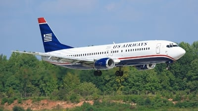 N442US - Boeing 737-4B7 - US Airways