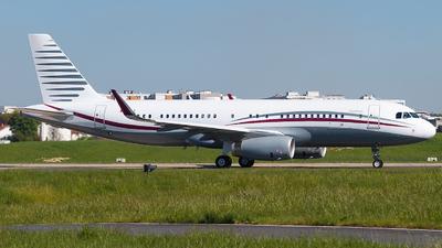 A7-HSJ - Airbus A320-232(CJ) Prestige - Qatar - Amiri Flight