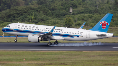 A picture of B30AJ - Airbus A320251N - China Southern Airlines - © Eric Wang