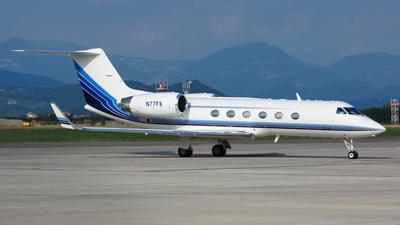 A picture of N77FK - Gulfstream IV - [1357] - © Mario Alberto Ravasio - AviationphotoBGY