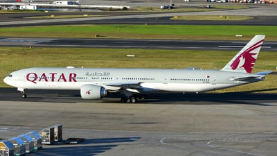 A7-BER - Boeing 777-3DZER - Qatar Airways