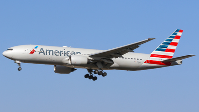 A picture of N781AN - Boeing 777223(ER) - American Airlines - © Johannes Wirl