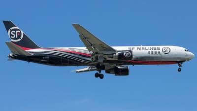 A picture of B1423 - Boeing 767338(ER)(BCF) - SF Airlines - © Wang Wei Liang