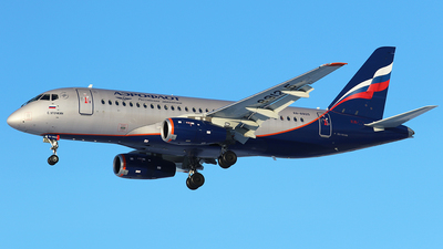 A picture of RA89125 - Sukhoi Superjet 10095B - Aeroflot - © BizavMen