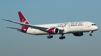 G-VCRU - Boeing 787-9 Dreamliner - Virgin Atlantic Airways