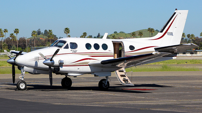 A picture of N444PS - Beech C90 King Air - [LJ615] - © Jamie West