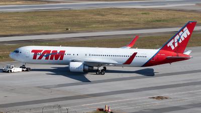 PT-MSO - Boeing 767-316(ER) - TAM Linhas Aéreas