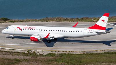 OE-LWO - Embraer 190-200LR - Austrian Airlines