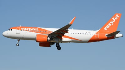A picture of GUZHV - Airbus A320251N - easyJet - © Romain Salerno / Aeronantes Spotters