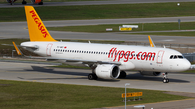 TC-NBY - Airbus A320-251N - Pegasus Airlines