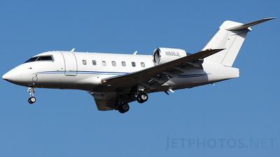 N606JL - Bombardier CL-600-2B16 Challenger 604 - Private