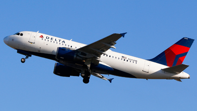 A picture of N344NB - Airbus A319114 - Delta Air Lines - © Alec Mollenhauer