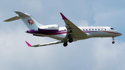VT-SHG - Bombardier BD-700-1A11 Global 5000 - Private