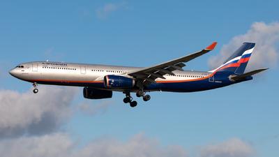 A picture of VPBDD - Airbus A330343 - Aeroflot - © Sebastian Sowa