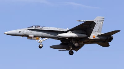 C.15-24 - McDonnell Douglas EF-18M Hornet - Spain - Air Force