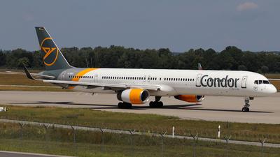 A picture of DABOJ - Boeing 757330 - Condor - © ms spot